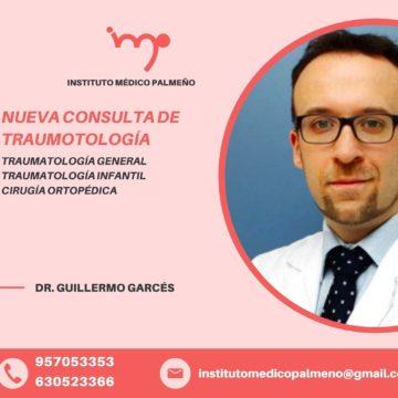 Traumatóloga: Doctor Guillermo Garcés